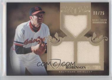 2011 Topps Tier One Top Shelf Relics Triple #TSR45 - Brooks Robinson/25 - Courtesy of COMC.com