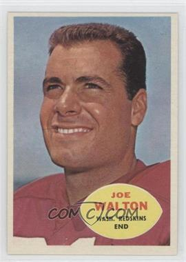 1960 Topps #127 - Joe Walton RC (Rookie Card) - Courtesy of CheckOutMyCards.com