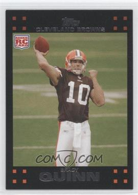 2007 Topps #287 - Brady Quinn RC (Rookie Card) - Courtesy of CheckOutMyCards.com