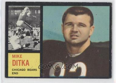 1962 Topps #17 - Mike Ditka RC (Rookie Card) - Courtesy of CheckOutMyCards.com