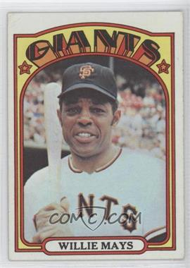 1972 Topps #49 - Willie Mays - Courtesy of CheckOutMyCards.com