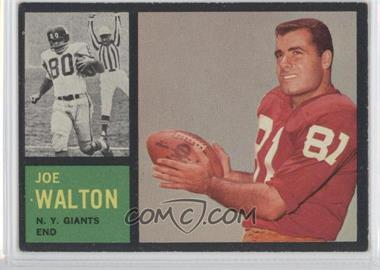 1962 Topps #103 - Joe Walton - Courtesy of CheckOutMyCards.com