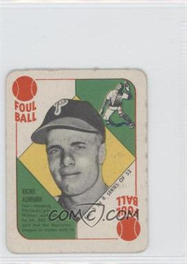 1951 Topps Blue Backs #3 - Richie Ashburn - Courtesy of CheckOutMyCards.com