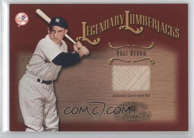 2002 Donruss Classics Legendary Lumberjacks #23 - Yogi Berra/100 - Courtesy of CheckOutMyCards.com