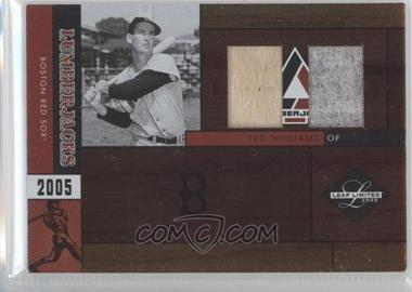 2005 Leaf Limited Lumberjacks Combos #37 - Ted Williams Bat-Jsy/10 - Courtesy of CheckOutMyCards.com