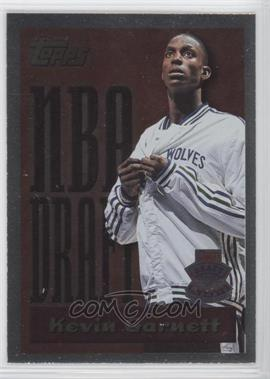 1995-96 Topps Draft Redemption #5 - Kevin Garnett - Courtesy of CheckOutMyCards.com