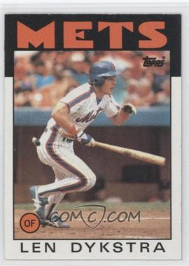 1986 Topps #53 - Len Dykstra RC (Rookie Card) - Courtesy of CheckOutMyCards.com