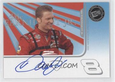 2004 Press Pass Autographs #16 - Dale Earnhardt Jr. E - Courtesy of CheckOutMyCards.com