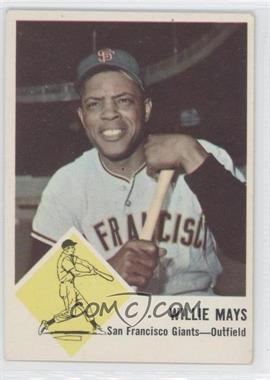1963 Fleer #5 - Willie Mays - Courtesy of CheckOutMyCards.com