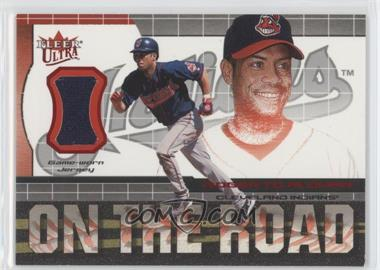 2002 Ultra On the Road Game Jersey #5 - Roberto Alomar - Courtesy of CheckOutMyCards.com