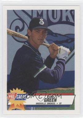1993 Knoxville Smokies Fleer/ProCards #1262 - Shawn Green - Courtesy of CheckOutMyCards.com