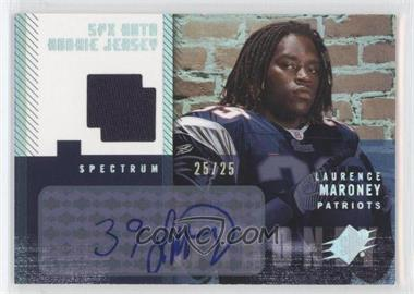 2006 SPx Spectrum #190 - Laurence Maroney JSY AU/25 - Courtesy of CheckOutMyCards.com