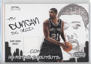 2004-05 SkyBox Premium Hometown Shout Outs Jerseys #TD - Tim Duncan - Courtesy of CheckOutMyCards.com