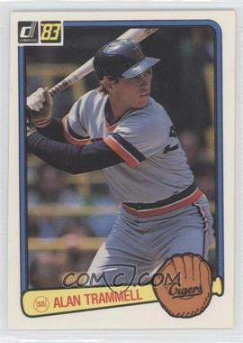 1983 Donruss #207 - Alan Trammell - Courtesy of CheckOutMyCards.com