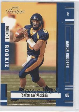 2005 Playoff Prestige #151 - Aaron Rodgers SP RC (Rookie Card) - Courtesy of CheckOutMyCards.com