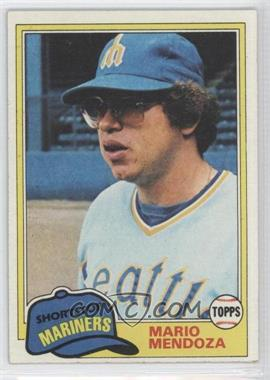 1981 Topps #76 - Mario Mendoza - Courtesy of CheckOutMyCards.com