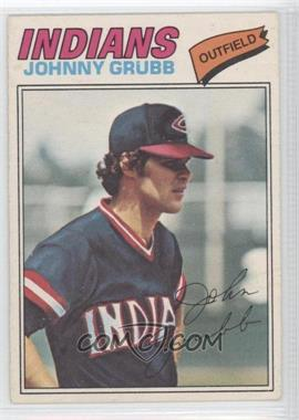 1977 O-Pee-Chee #165 - Johnny Grubb - Courtesy of CheckOutMyCards.com