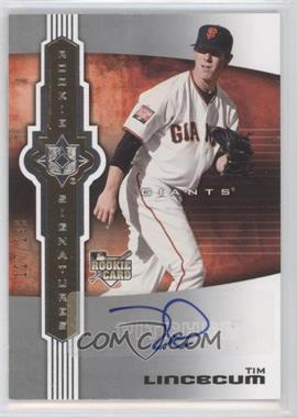 2007 Ultimate Collection #124 - Tim Lincecum AU RC (Rookie Card)/299 - Courtesy of CheckOutMyCards.com