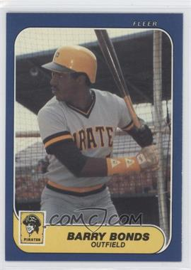 1986 Fleer Update #14 - Barry Bonds XRC (Rookie Card) - Courtesy of CheckOutMyCards.com
