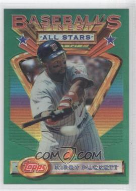 1993 Finest Refractors #112 - Kirby Puckett AS/241 - Courtesy of CheckOutMyCards.com