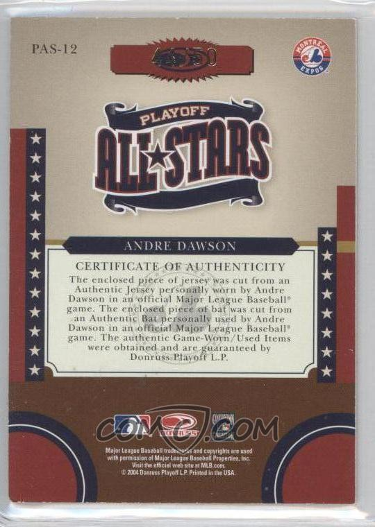 2004 donruss world series